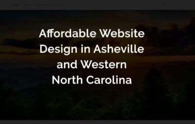 affordable website design in asheville